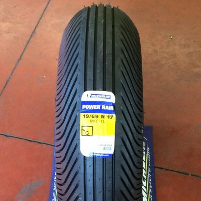 19/69 R 17 POWER RAIN POSTERIORE MICHELIN SUPERBIKE DA BAGNATO