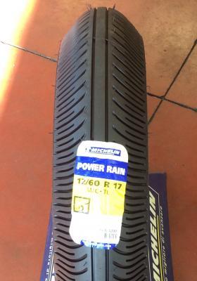 12/60 R 17 POWER RAIN ANTERIORE MICHELIN SUPERBIKE DA BAGNATO
